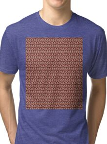 Michael Cera Tiled Heads Tri-blend T-Shirt