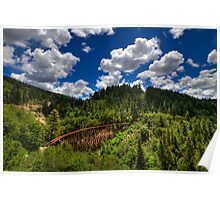 Mexican Canyon Trestle Poster
