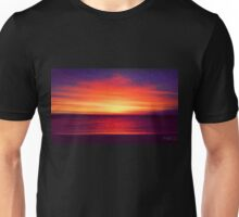 Coastal Summer Sunset WA Unisex T-Shirt