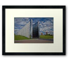 """Empty Sky"" Framed Print"