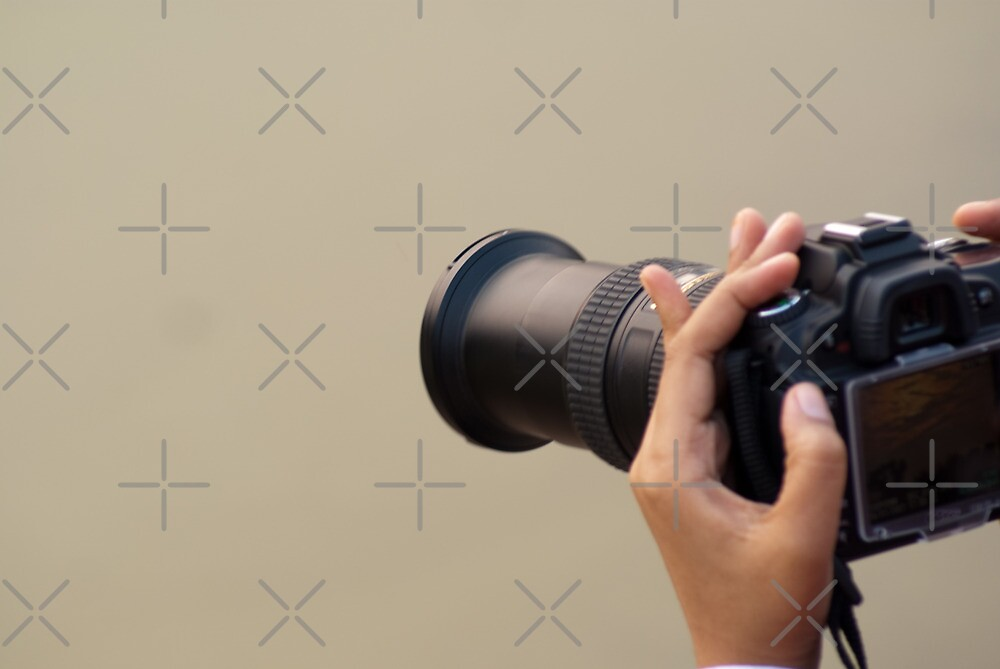 Using a zoom lens and a digital camera and reviewing the results on the LCD by ashishagarwal74