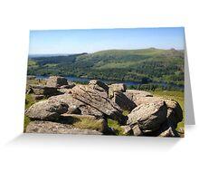 Sheeps Tor, Dartmoor Greeting Card