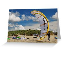 Kiting... Greeting Card