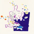 Night Drawings - Les Dessins de Nuit n°18  by Pascale Baud