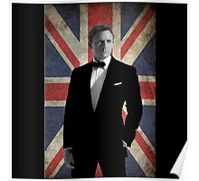 spectre 007 bond the british agent Poster