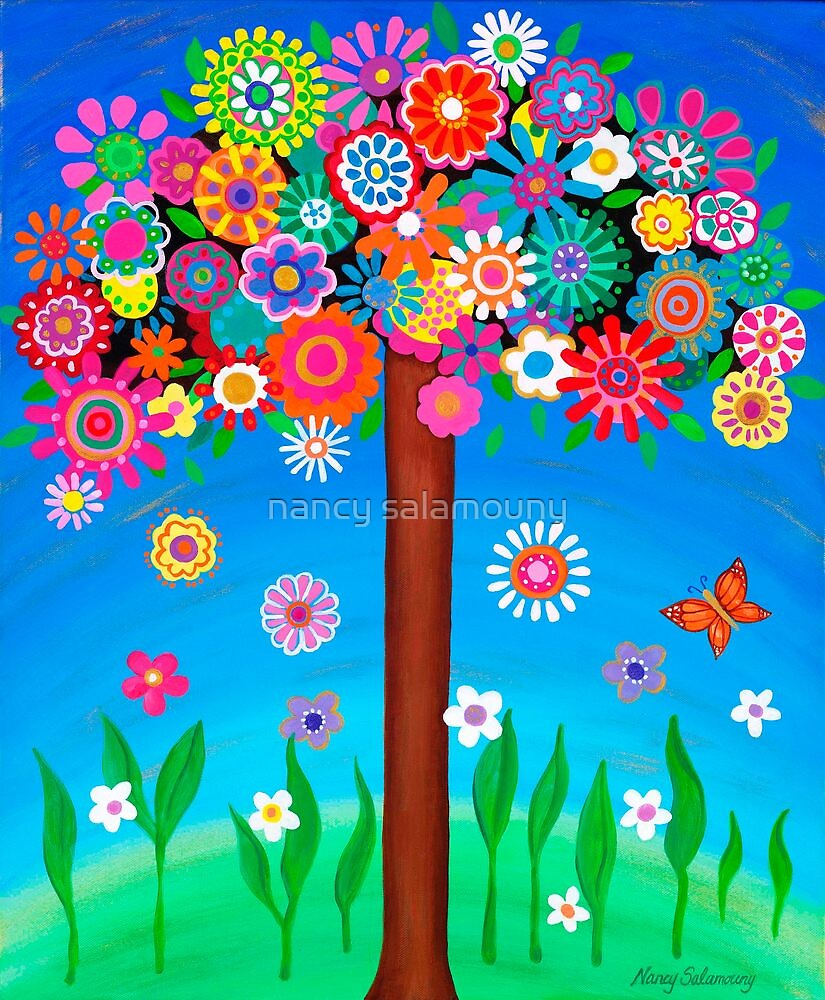 Tree of Life I by nancy salamouny