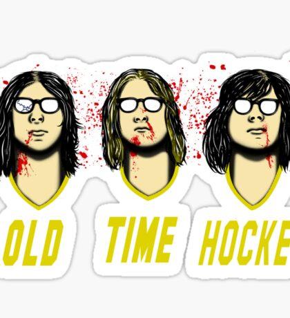 Old Time Hockey Sticker