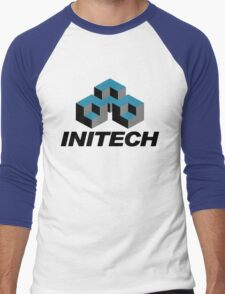 Initech Men's Baseball ¾ T-Shirt