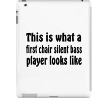 Silent Bass iPad Case/Skin