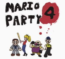 Mario Party 4: Left 4 Dead Kids Tee