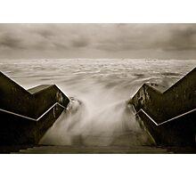 Tidal rush. Photographic Print