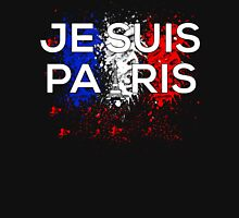 Je Suis Paris - Paint Flag France Unisex T-Shirt