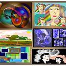 Collage by Iris Gelbart by IrisGelbart