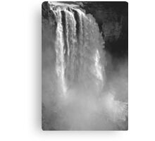snoqualmie falls, washington, usa - july 24, 2012 Canvas Print