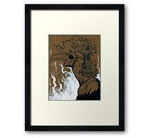 A plague of Sorrow Framed Print