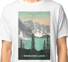 Moraine Lake poster Classic T-Shirt