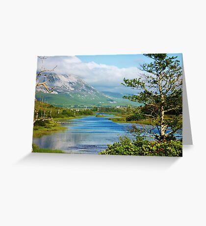 Loch Dun luiche Tir Conaill Greeting Card