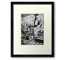 Thief of Pompeii. Framed Print