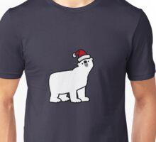 CHRISTMAS POLAR BEAR Unisex T-Shirt