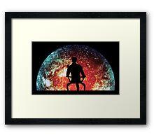 Illusive Man Framed Print