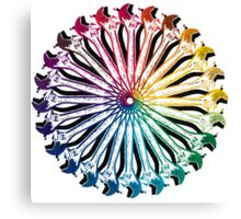Wrench Color Wheel B Canvas Print