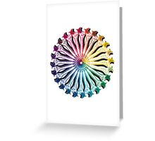 Wrench Color Wheel B Greeting Card