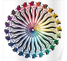 Wrench Color Wheel B Poster