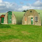 WW2 Quonset huts, Keevil, England by Ross Sharp