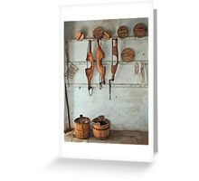 Milking Parlour Greeting Card