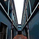 Alleyway in Nassau, Bahamas by Terri~Lynn Bealle