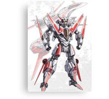 Transforming Jet Mech: The Dragonfly Canvas Print
