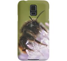 Pollen Covered Bee macro Samsung Galaxy Case/Skin