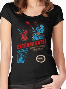 ExtermiNES! Women's Fitted Scoop T-Shirt