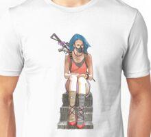 sitting waiting Unisex T-Shirt