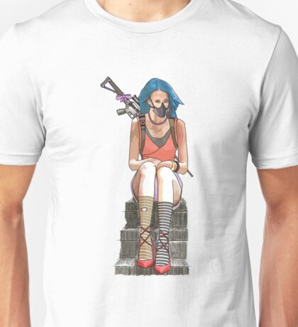 sitting waiting Unisex T-Shirt