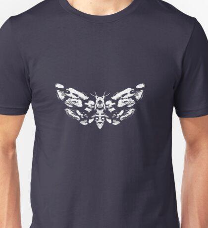 Death's Head Rorschach (inverted) Unisex T-Shirt
