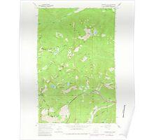 USGS Topo Map Washington State WA Labyrinth Mtn 241838 1965 24000 Poster