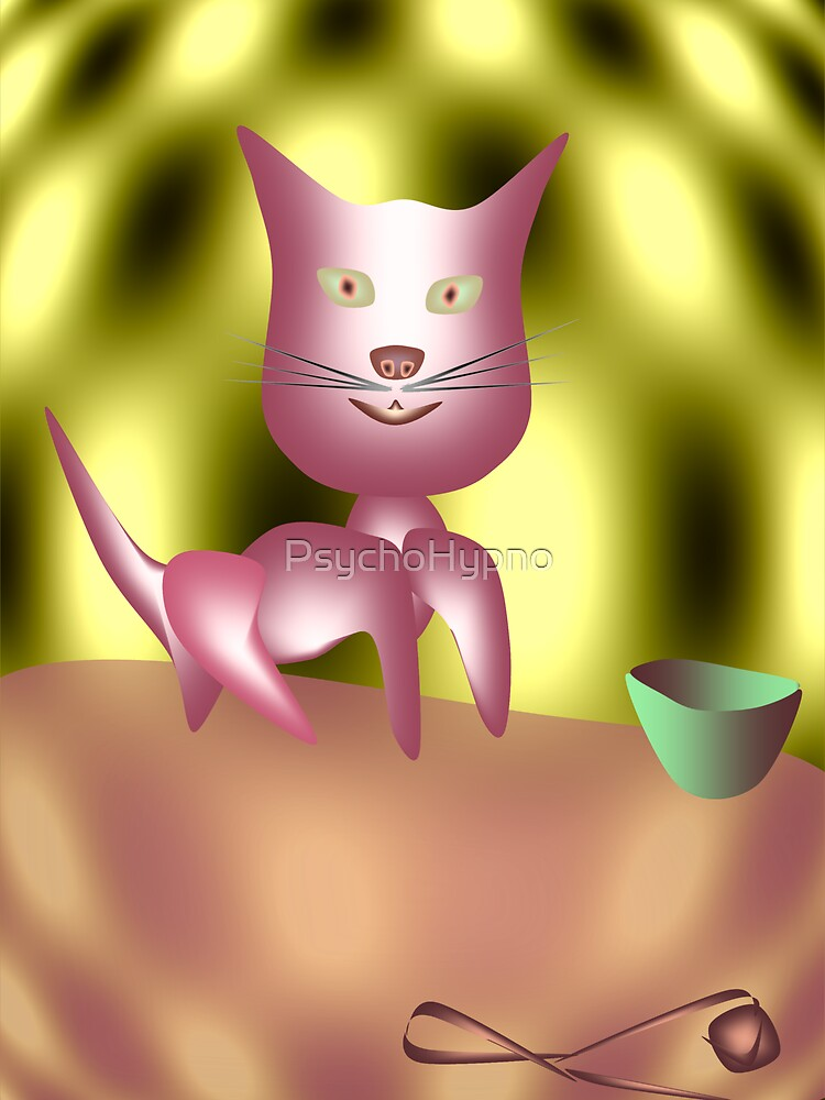 Magic Cat by PsychoHypno