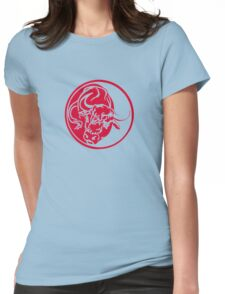 Red Bull Tattoo Womens Fitted T-Shirt