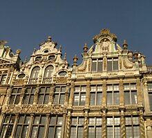 Grande Place, Brussels, Belgium. by John Evans