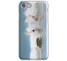 Surfing wipe out! iPhone case iPhone Case/Skin
