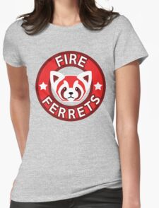 Fire Ferrets Womens Fitted T-Shirt