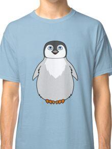 Natural Grey Baby Penguin Classic T-Shirt