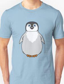 Natural Grey Baby Penguin Unisex T-Shirt