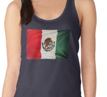 Mexican Flag Women's Tank Top