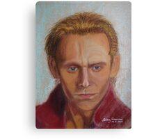 Tom Hiddleston as Prince Hal Canvas Print