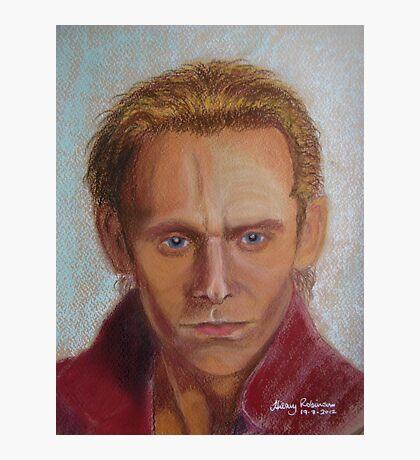 Tom Hiddleston as Prince Hal Photographic Print