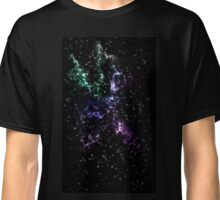 SPACE - violet blue green Classic T-Shirt