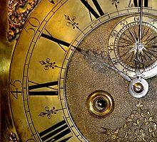 Brass Clock Face by John Evans