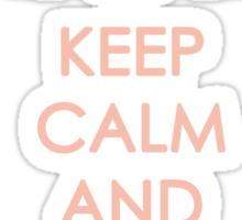 Keep Calm - Neo Queen Crown Clothing Sticker